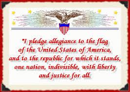 original pledge pre-1954