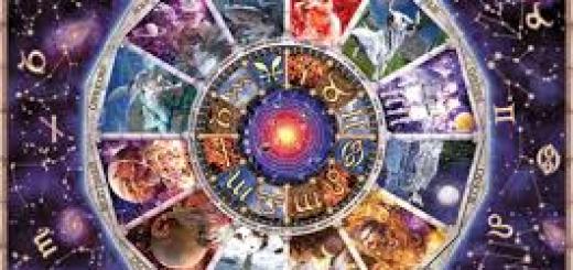 astrology chart in purple
