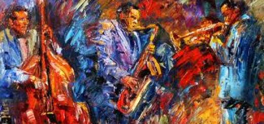jazz jam painting