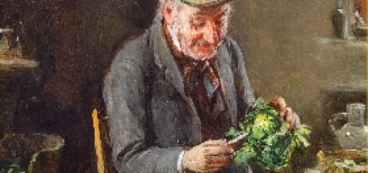 Contented Veggie Man