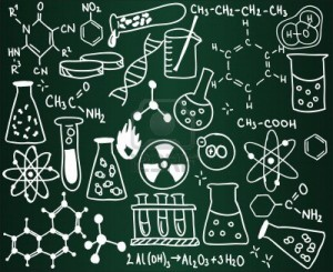 chemistry-icons-and-formulas-on-the-school-board
