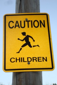 Child caution is warranted