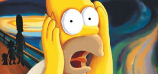 homer's reaction to popular culture