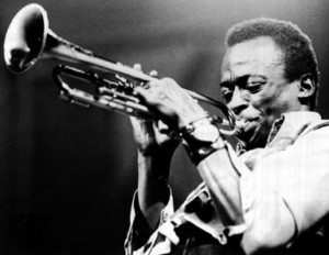 Jazz icon and American, Miles Davis