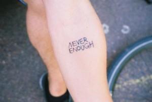 Never enough tatt