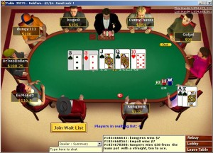 Virtual card room
