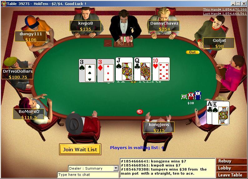 Virtual poker free where to play video poker in vegas