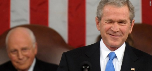 Bush is sincere and Cheney is aroused