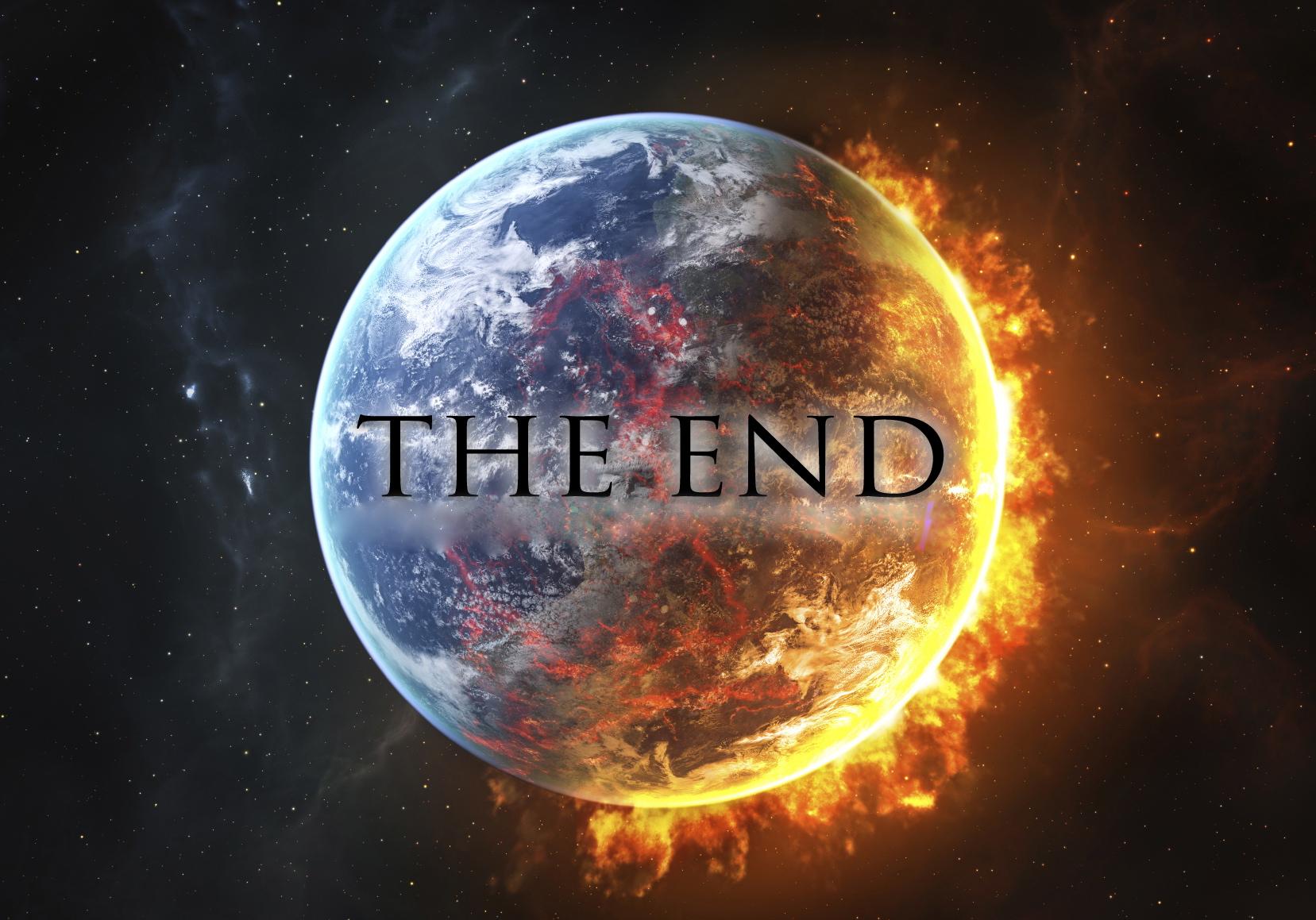 The End, sponsored by homo sapiens