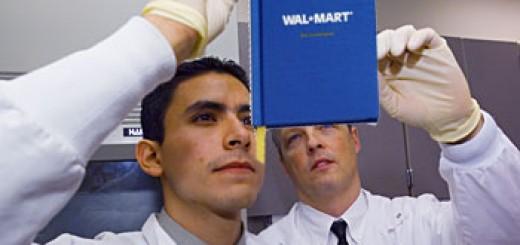 Scientists at Work, Investigating Wal-Mart's Inherent Evil