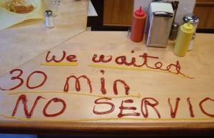 Passive-Aggressive diner