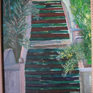 The Stairs on Fig, 2008