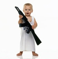 a properly armed child