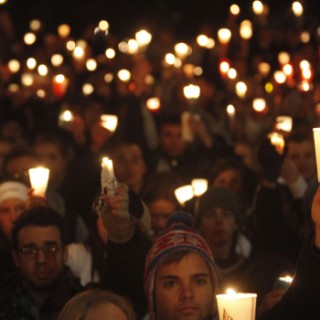 candlelight vigil for victims of bad people
