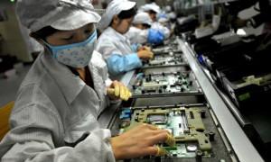 Foxconn factory in Shenzhen.