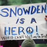 Activists Rally In New York In Support Of NSA Whistleblower Edward Snowden