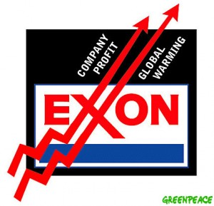 exxon-mobil finds profit in global warming