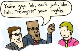 being real about gay rights