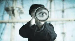 looking through a narrow lens