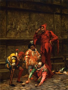Zabala_Eduardo_Court_Jester_playing_Bowls_1868-large