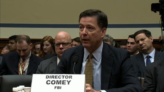 Comey testifies on FBI probe into Clinton emails